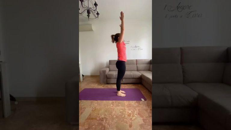 Yoga, saluto al Sole con Roberta